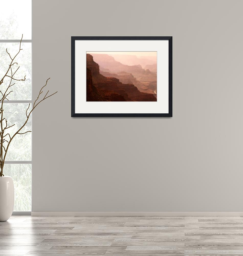 """""""Mystic View of the Grand Canyon""""  (2014) by SerenicArt"""