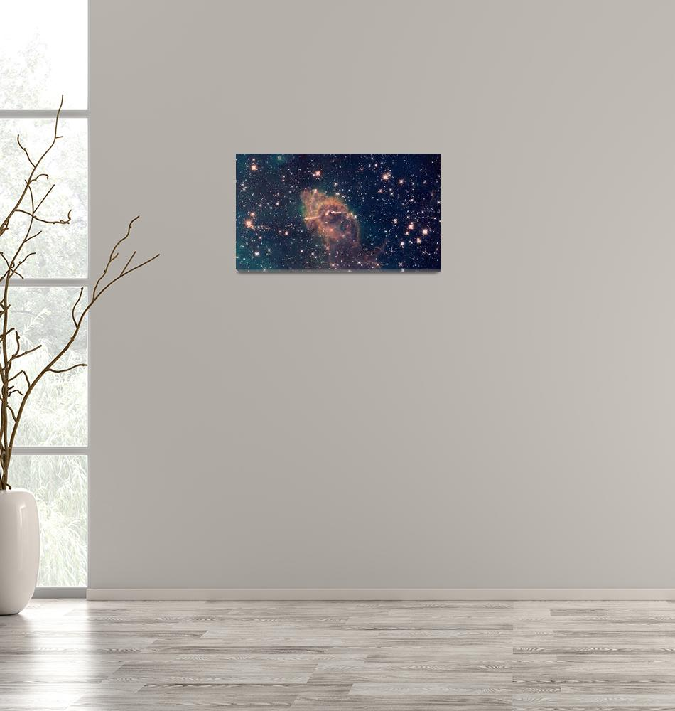 """""""Carina Nebula Composite Visible & Infrared Light""""  (2014) by TheNorthernTerritory"""