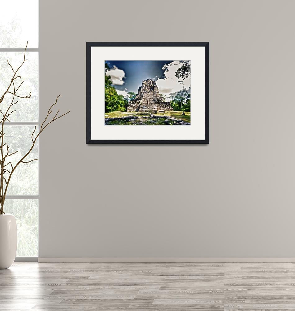 """""""Muyil Ruins / Mexico""""  (2009) by robertbiron"""