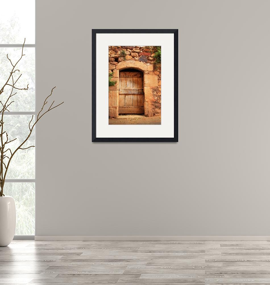"""Roussillon Door""  (2007) by Inge-Johnsson"