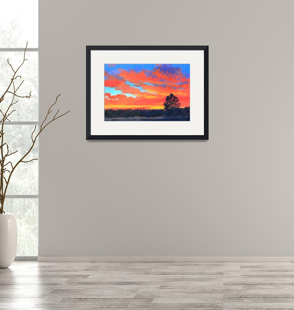 """""""Sunset Canticle""""  (2008) by claudebuckleyfineart"""