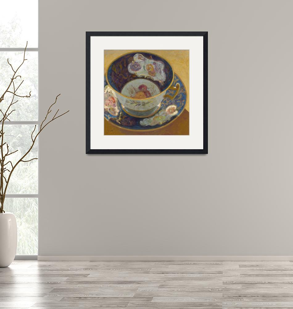 """""""The Very Old Antique Teacup""""  (2009) by StudioTeacup"""