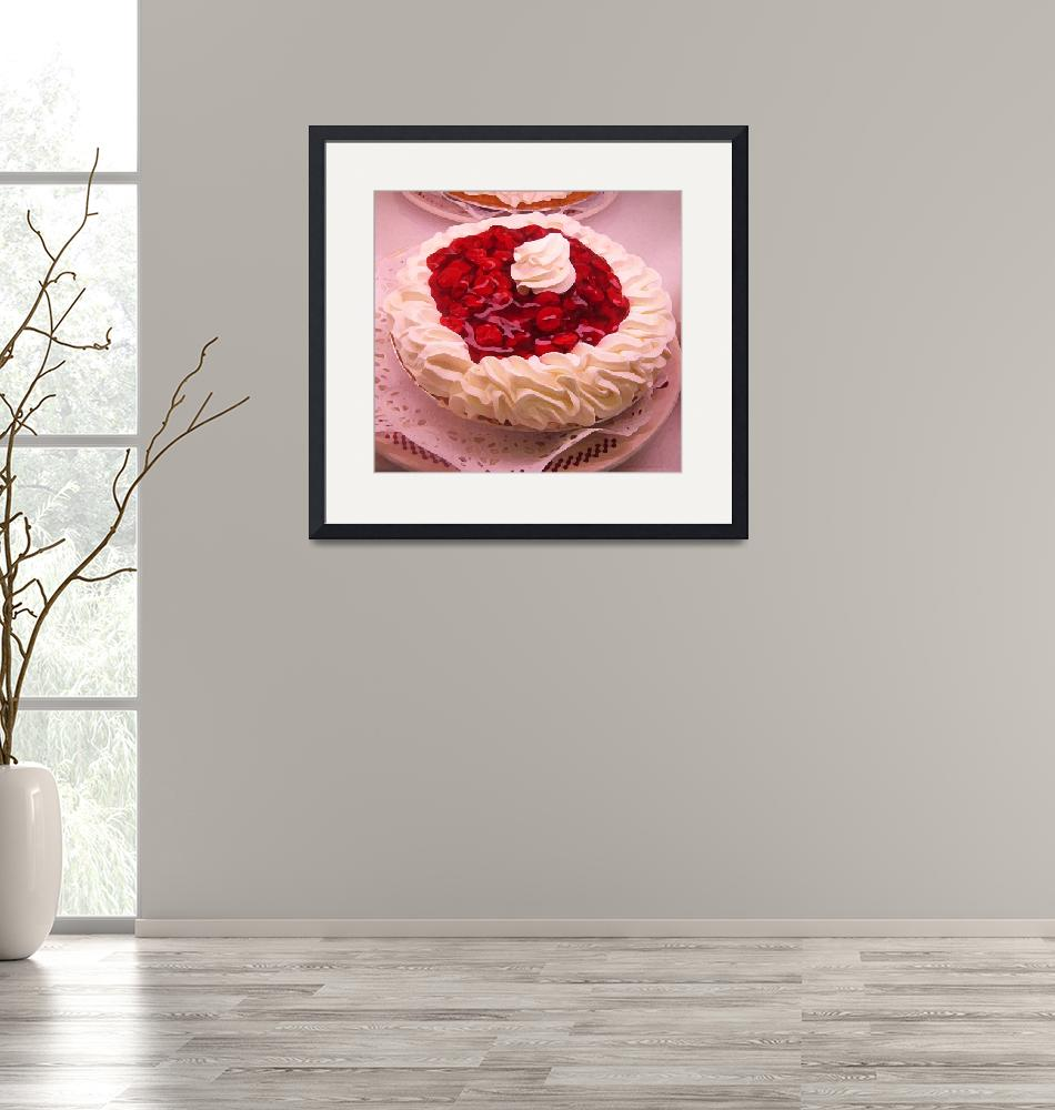 """""""Cherry Pie with Whip Cream""""  (2009) by AmyVangsgard"""