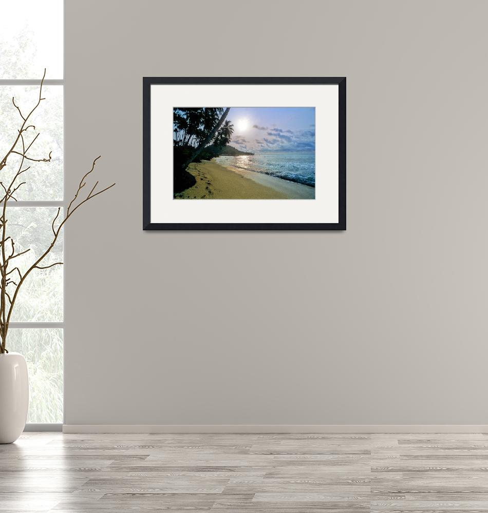 """""""Western Beach At Sunset""""  (2000) by JoaoPonces"""