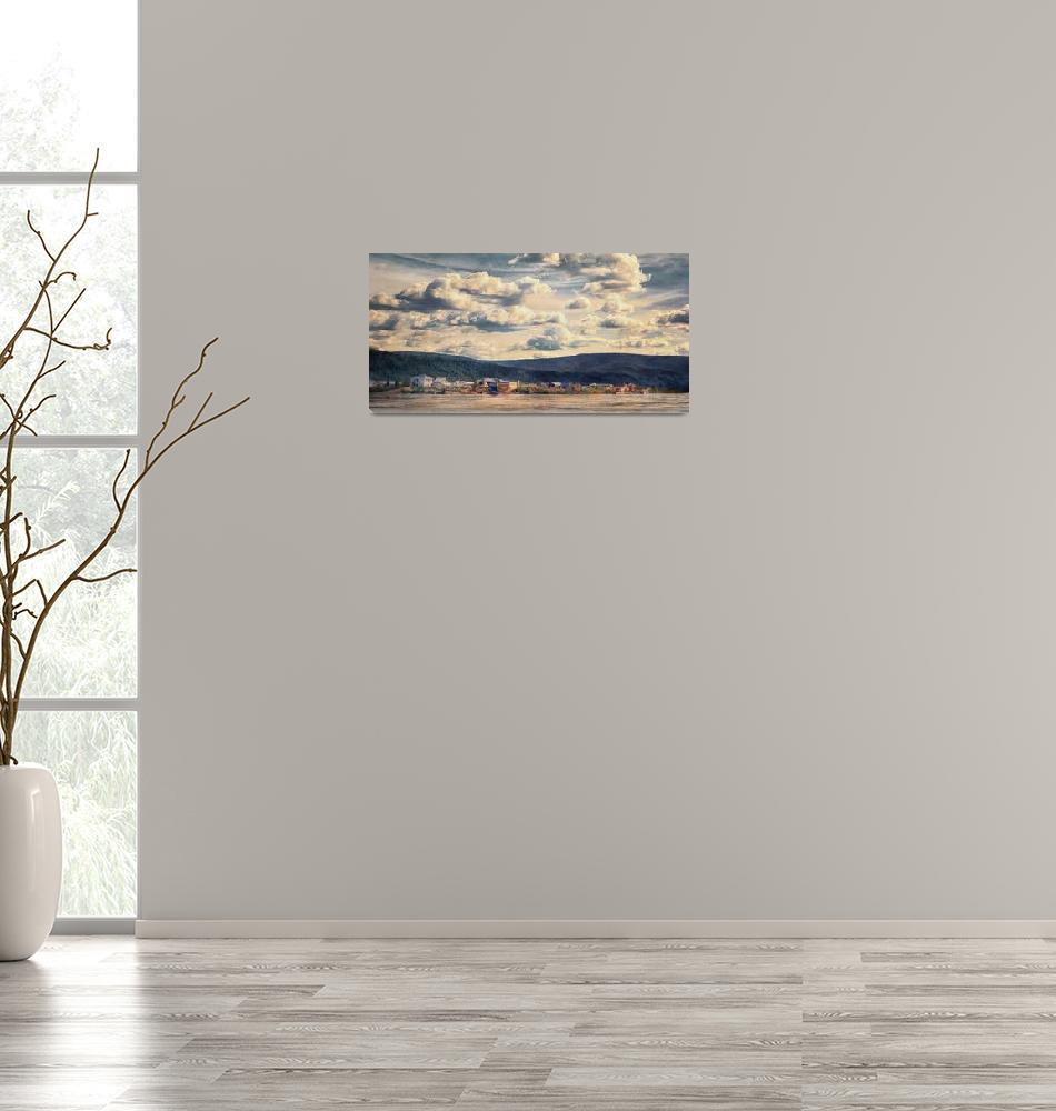 """""""Dawson City""""  (2014) by Piri"""
