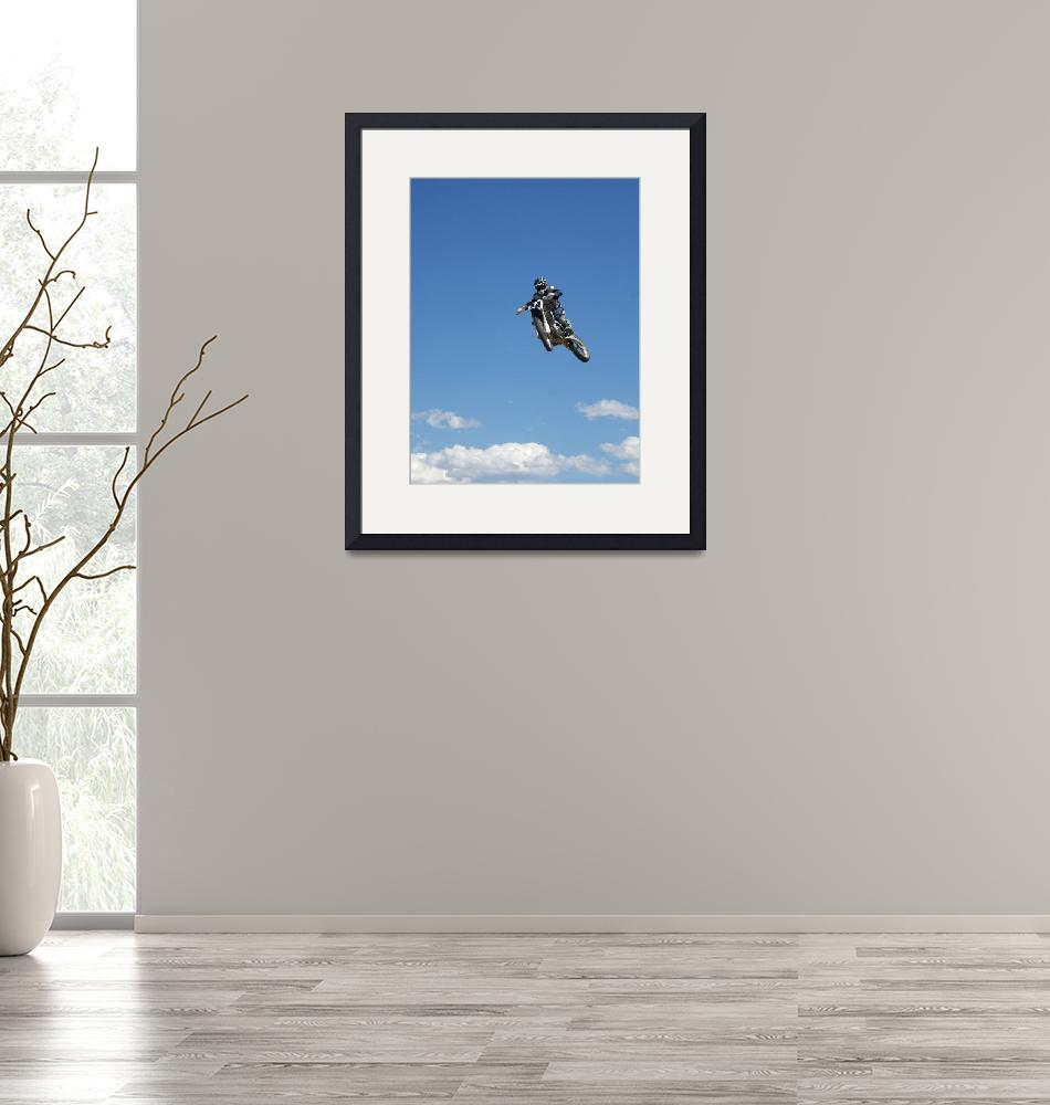 """""""Andy Atkins Flying High in the Colorado Sky""""  (2008) by fullmoonphotography"""
