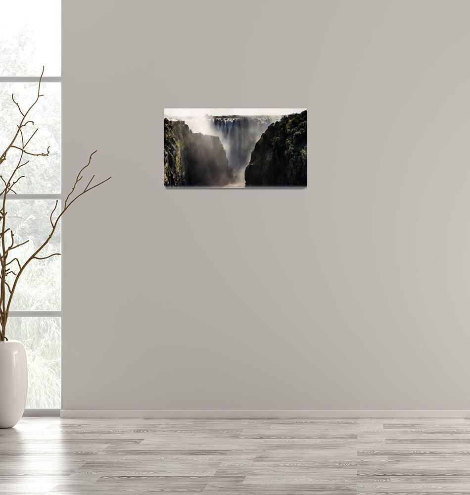 """""""Majestic Victoria Falls""""  (2017) by robertgrac"""