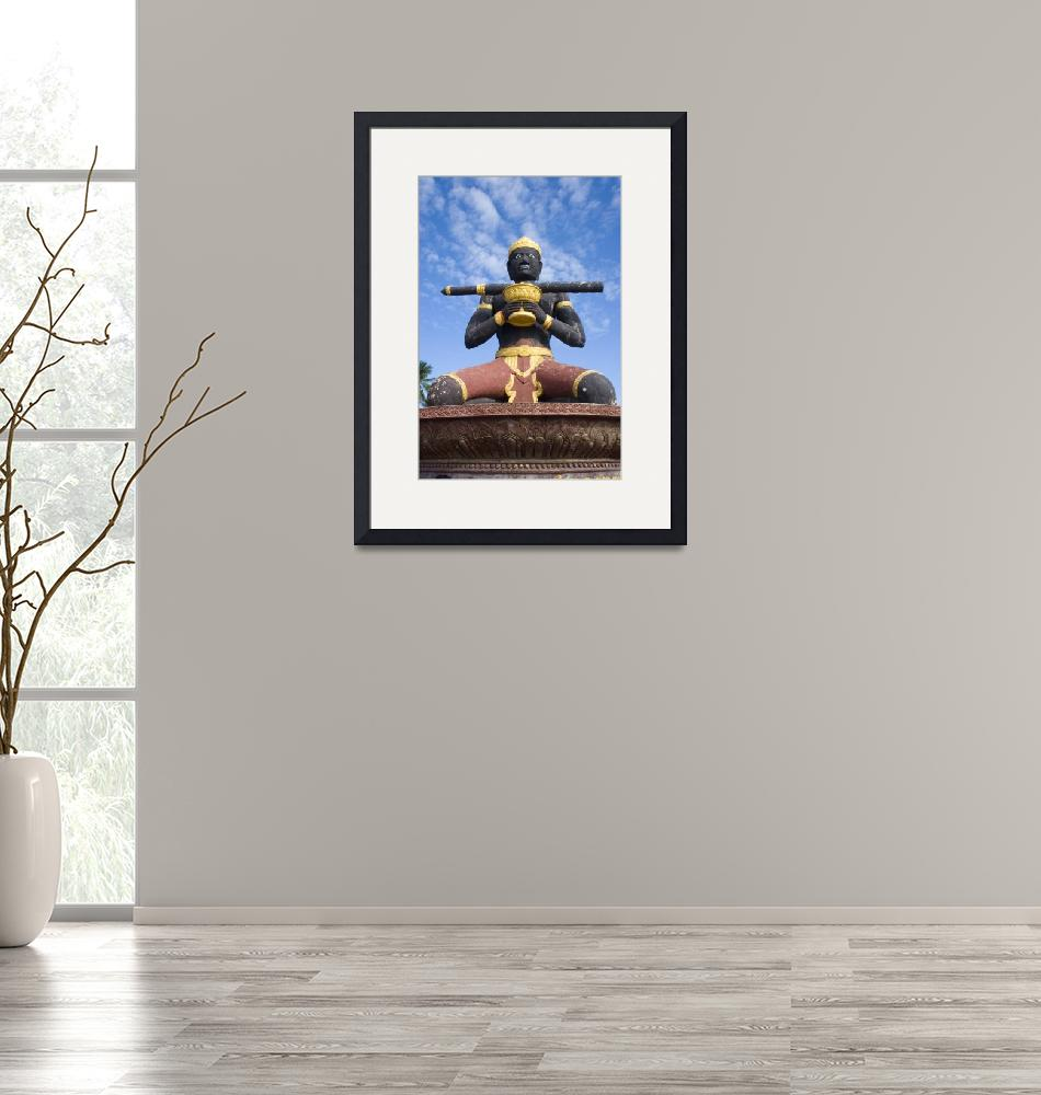 """""""Statue of Ta Dambong""""  by KeithKelly"""