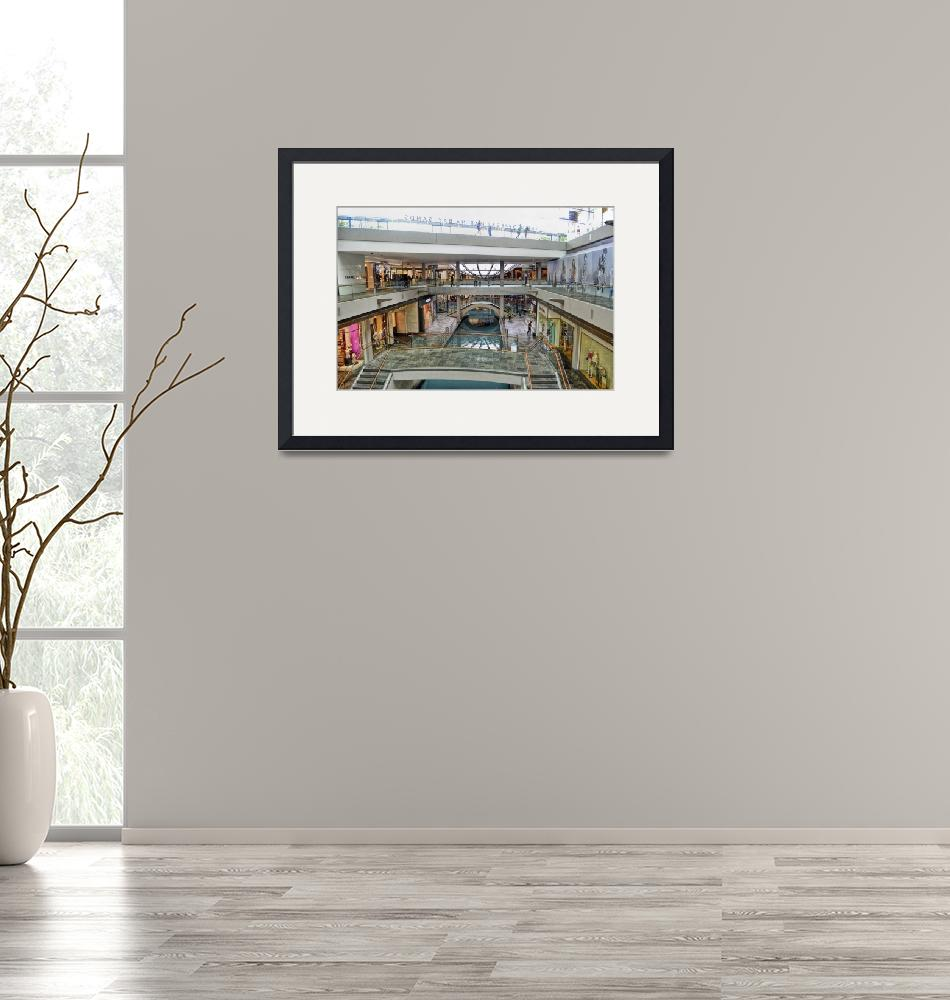 """""""The Canal at the Shopping Mall""""  (2015) by PaulCoco"""