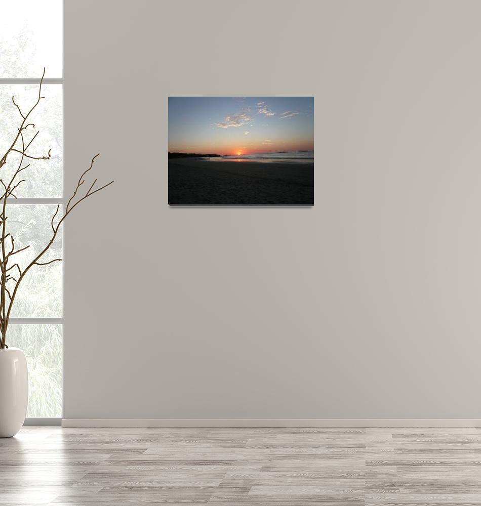 """Sunset at Tamarindo, Costa Rica""  (2009) by BruceCR"