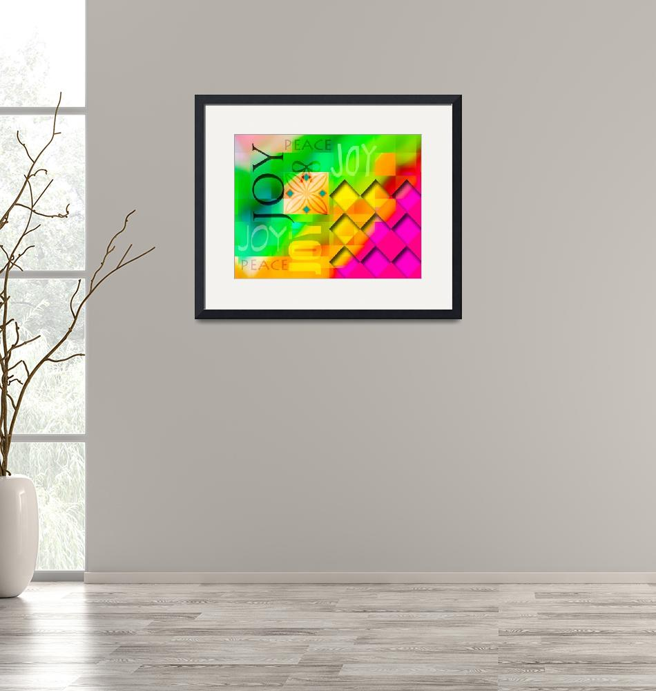"""""""joy abstract 2013""""  (2013) by schuhfly"""