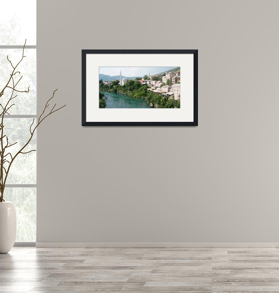 """""""City by the River""""  by pkotter"""