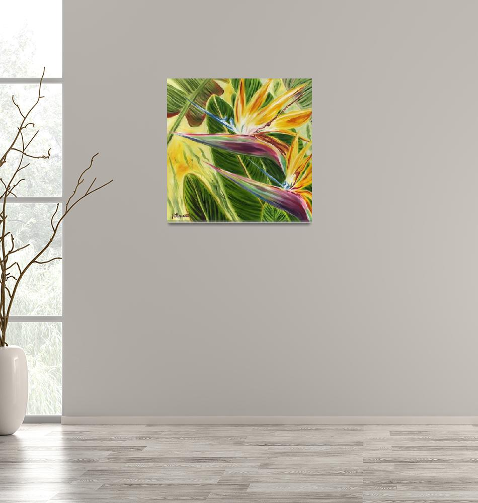 """Paradise In Pastel""  by JennyFloravita"