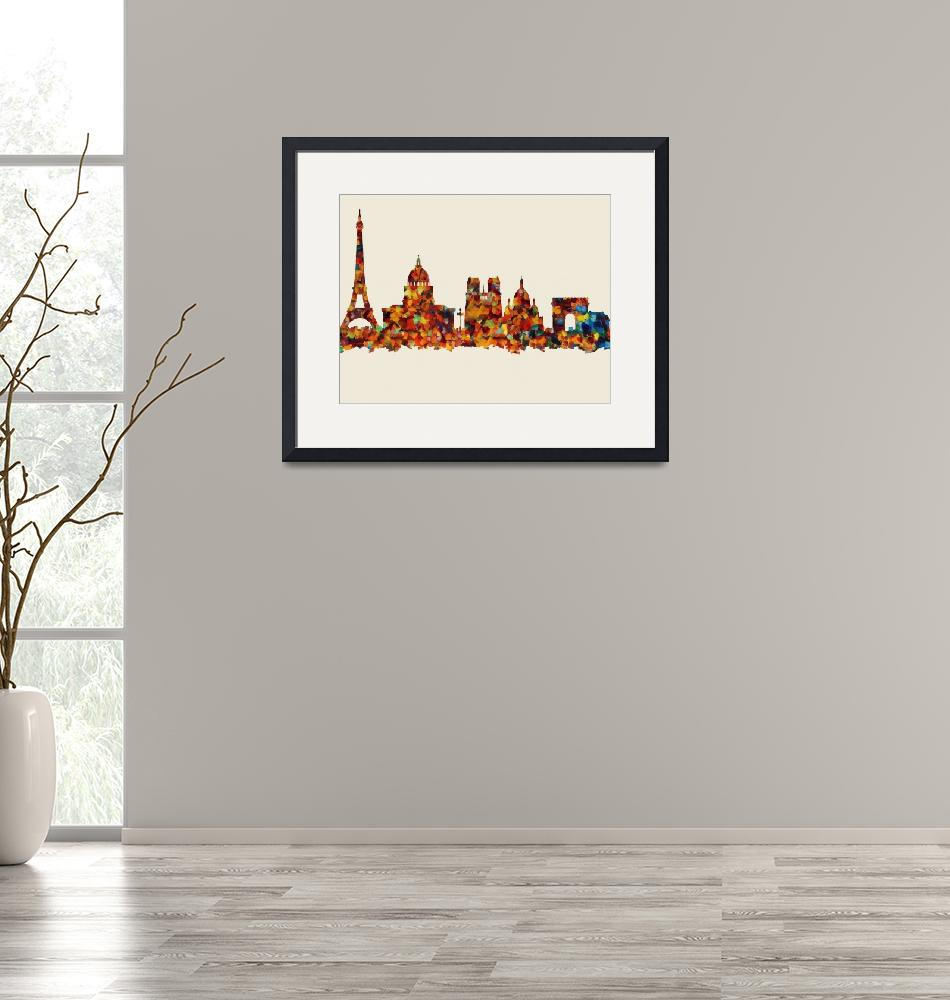 """Paris City""  (2015) by SafranFineArt"