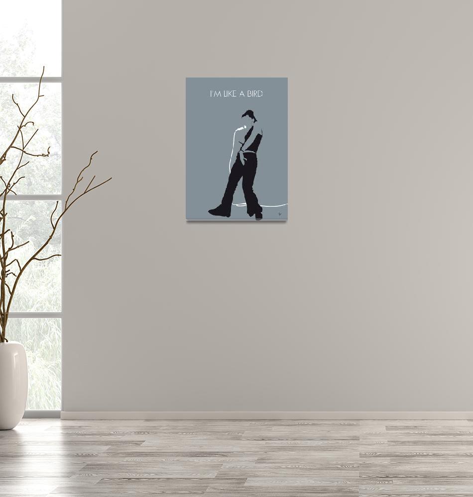"""No077 MY Nelly Furtado Minimal Music poster""  by Chungkong"