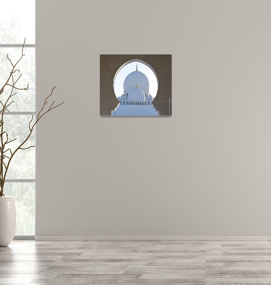 """""""Grand Mosque Abu Dhabi""""  (2013) by Marianne_S_Hosein"""