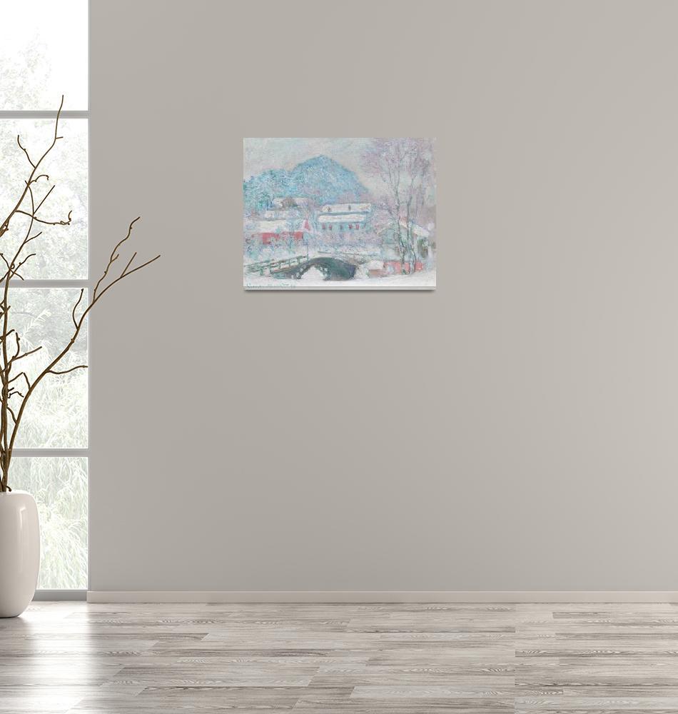 """Sandvika, Norway by Monet""  by FineArtClassics"