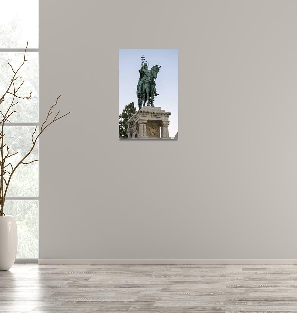 """King Saint Stephen, Budapest.""  by FernandoBarozza"