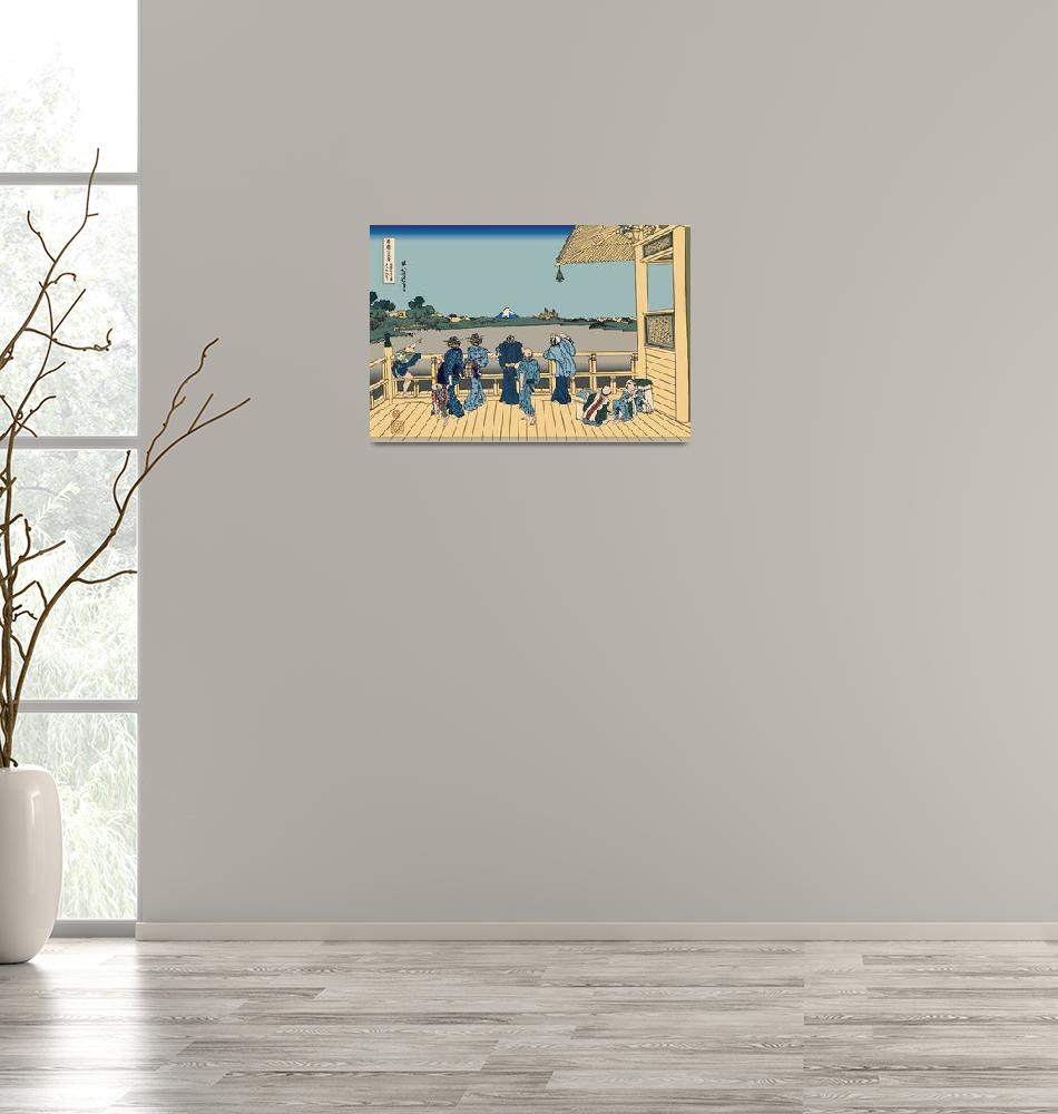 """""""Hokusai Sazai Hall""""  by oldies"""