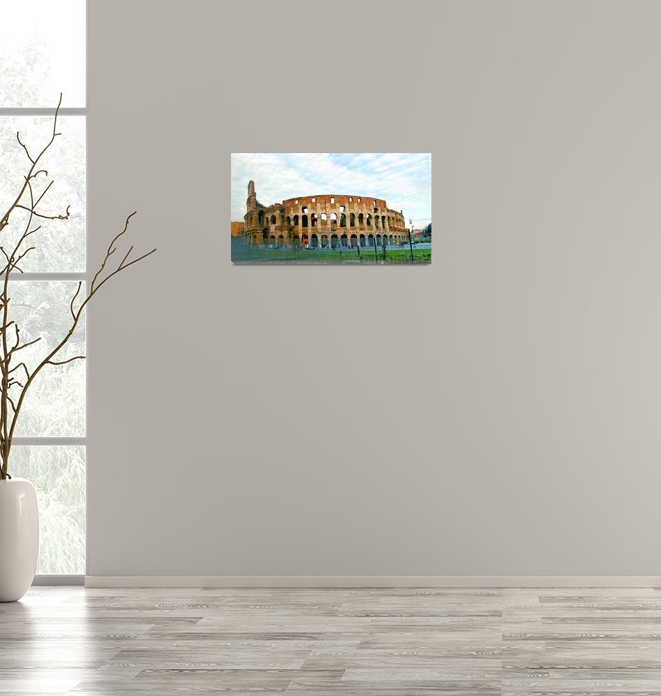 """""""il Colosseo Full""""  (2009) by martinographics"""