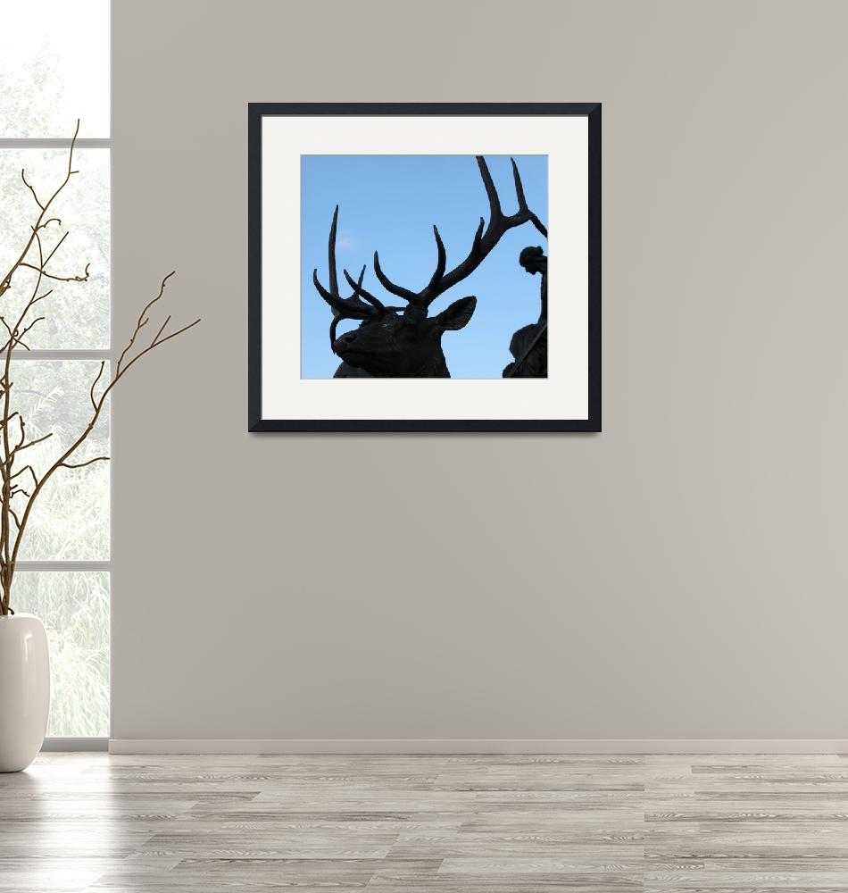 """""""Antlers and Woman""""  by SplitWindow"""