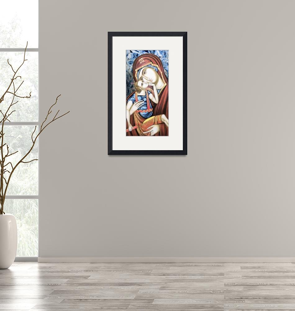 """""""Madonna & Child Icon""""  (2012) by leapdaybride"""