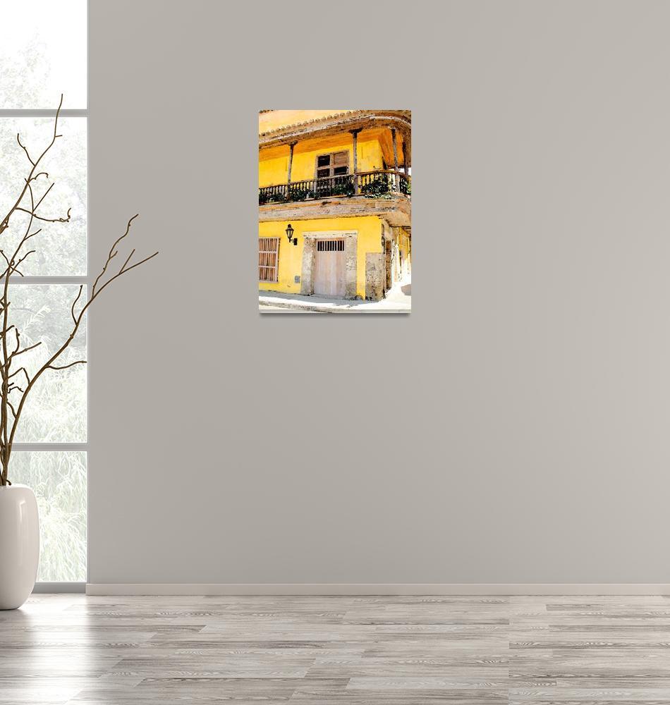 """""""Cartagena Balcony""""  (2008) by JimLipschutz"""