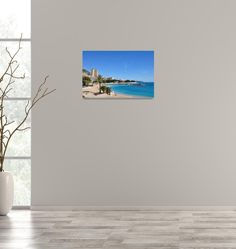 """Monaco beach""  (2008) by chinagirlsz"