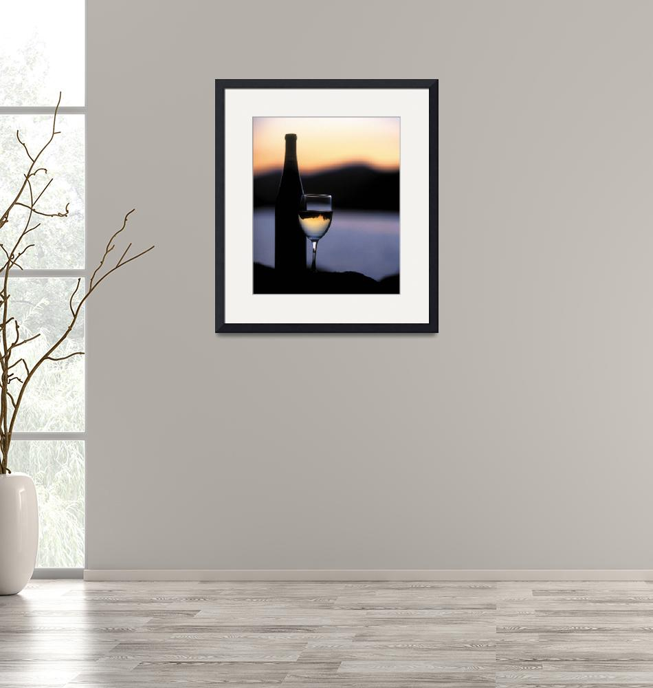 """""""Wine at Night""""  by winecountrycreations"""