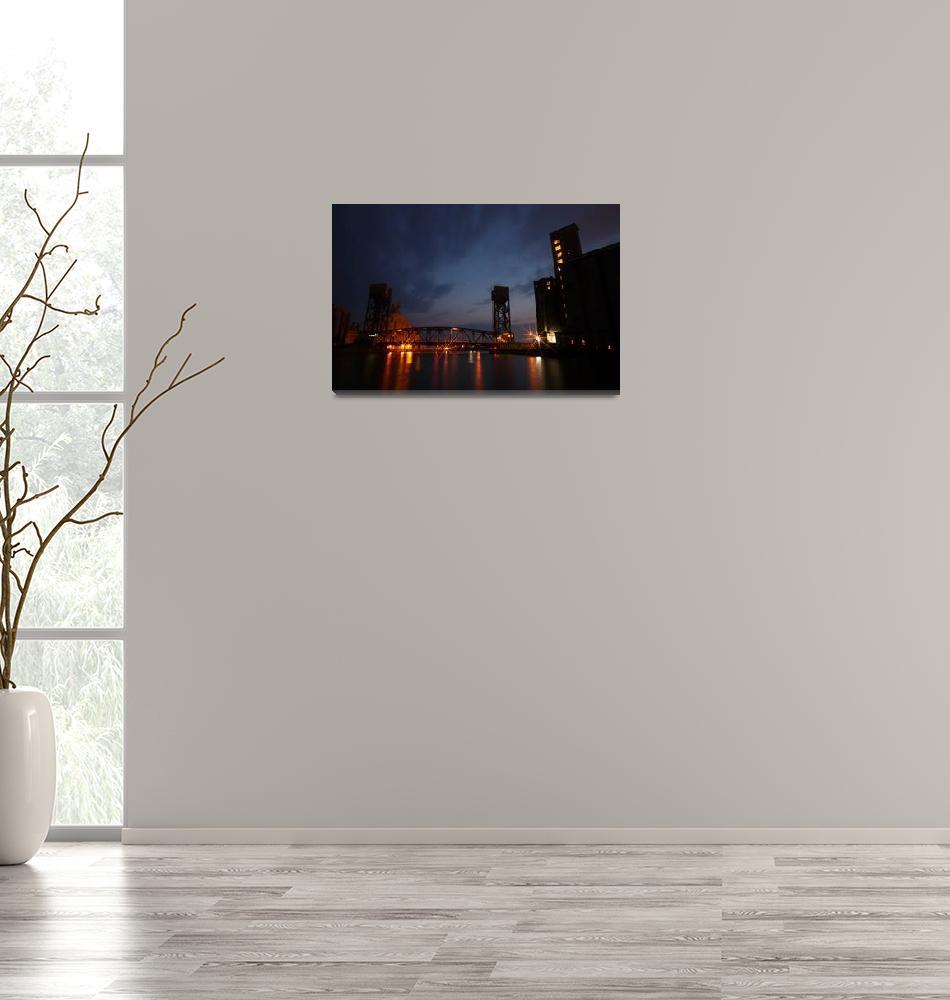 """Michigan Street Bridge""  (2008) by crs1042"