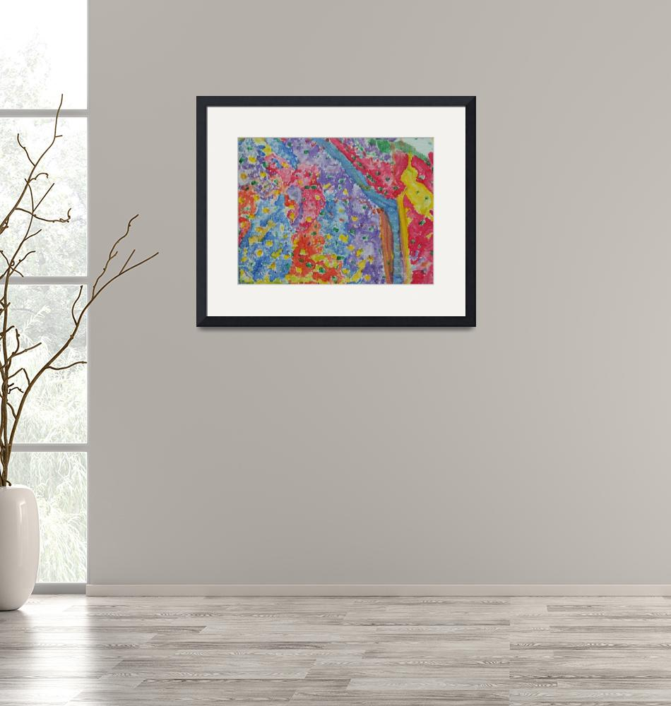 """""""Summer Abstract By Heather Schillinger"""" by mine"""