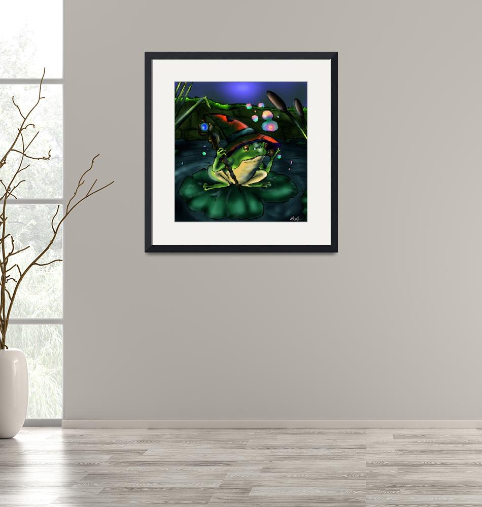"""""""Frog Wizard""""  (2012) by Ducky75"""