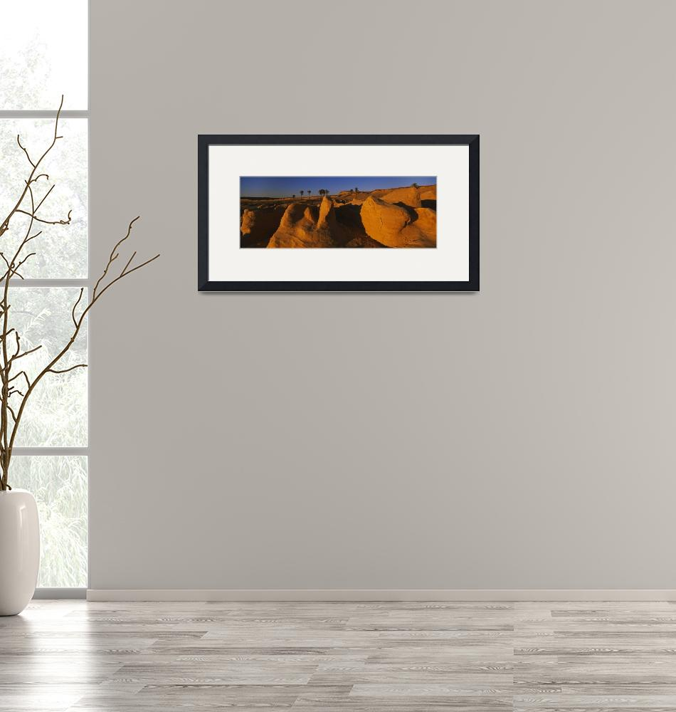 """""""Rock formations on a landscape""""  by Panoramic_Images"""