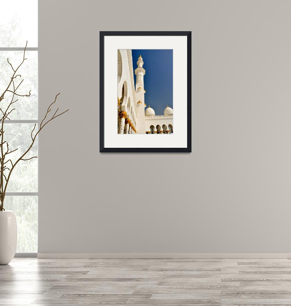 """""""The Grand Mosque  Minaret""""  by constanceowens"""