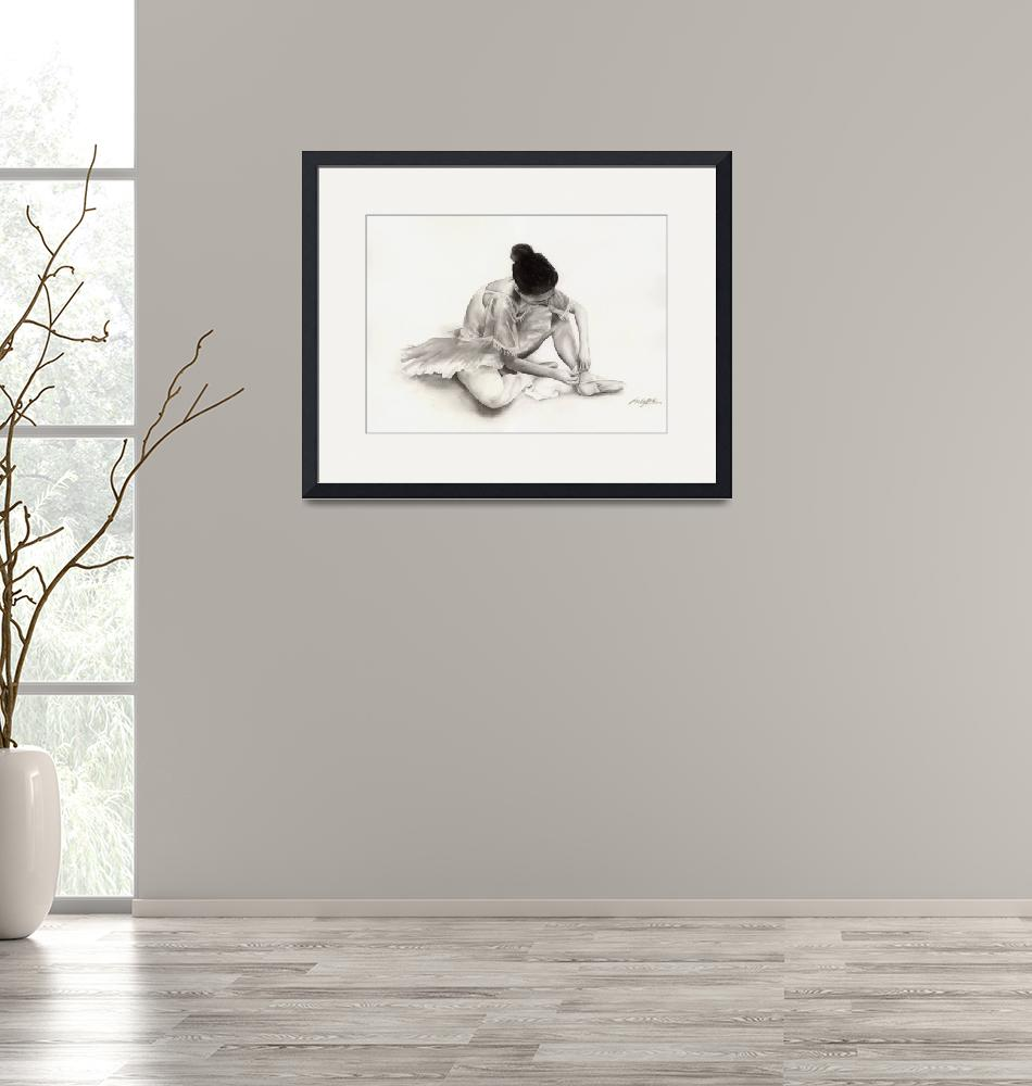 """The Ballet Dancer""  (2011) by HaileyWatermedia"