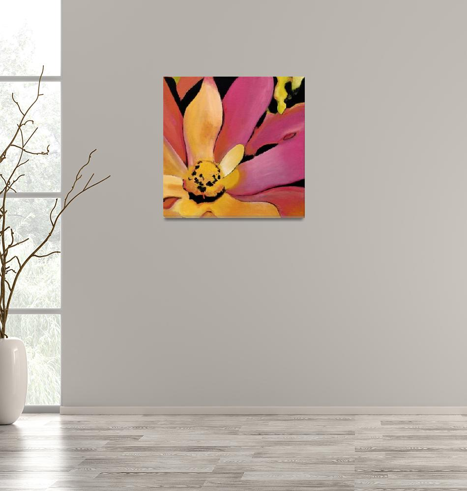 """Cactus Flower 3""  (2009) by susanclifton"