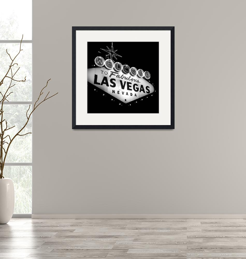 """""""Vegas Sign No. 21""""  (2008) by PadgettGallery"""