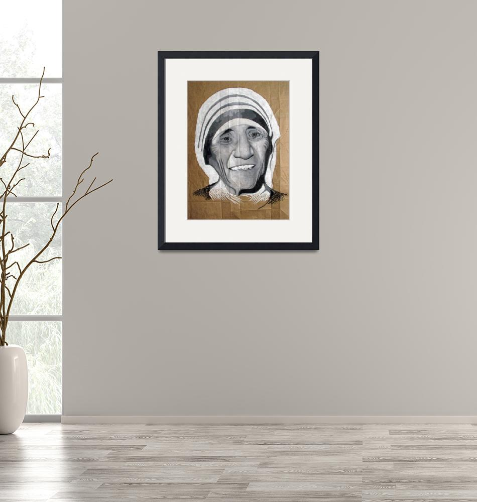 """""""Mother Theresa""""  (2008) by DevonGrey"""