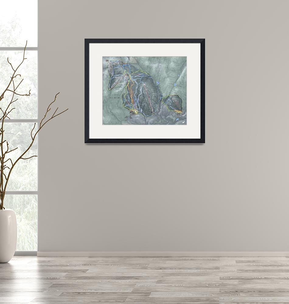 """""""Gore Mountain Trail Map"""" (2019) by Mapsynergy"""