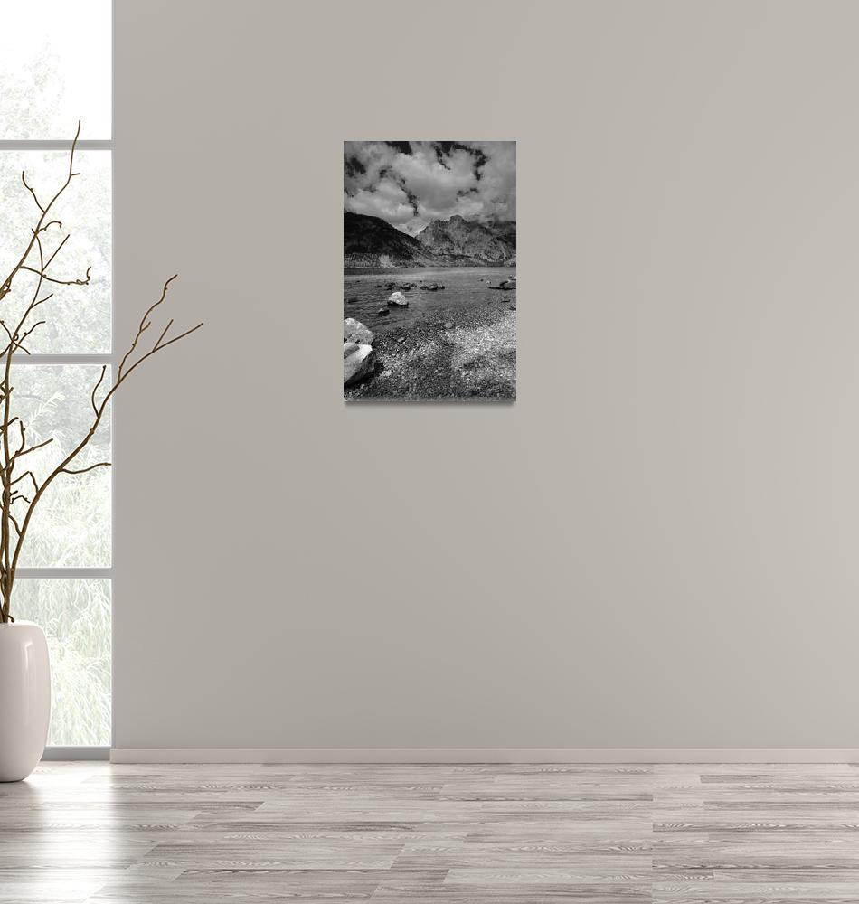 """Jenny Lake In Grand Teton National Park, Wyoming""  (2007) by FallingSilver"