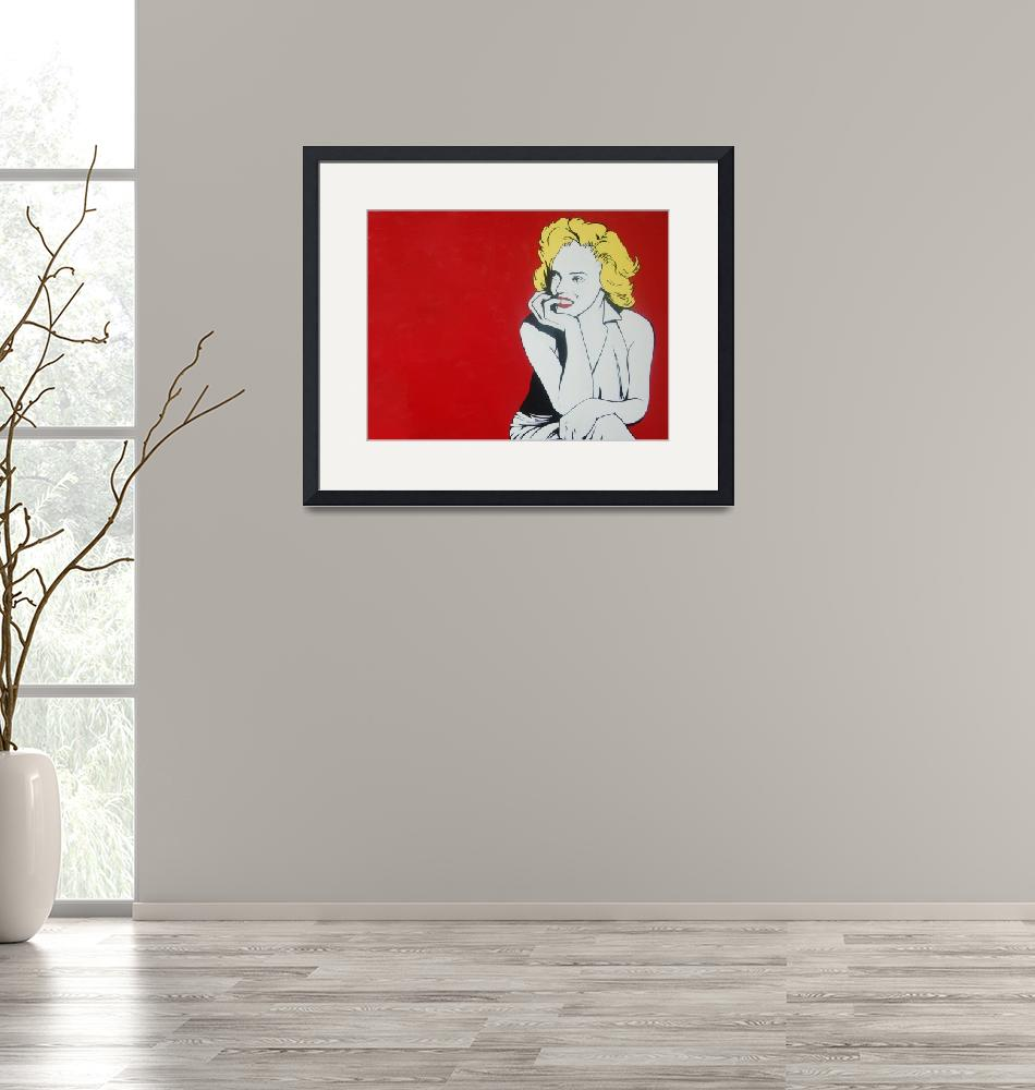 """""""Marilyn""""  (2011) by LucasVines"""