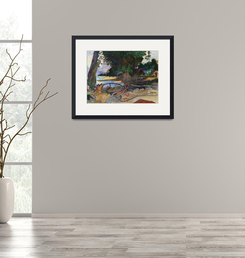 """""""The Hibiscus Tree by Paul Gauguin""""  by FineArtClassics"""