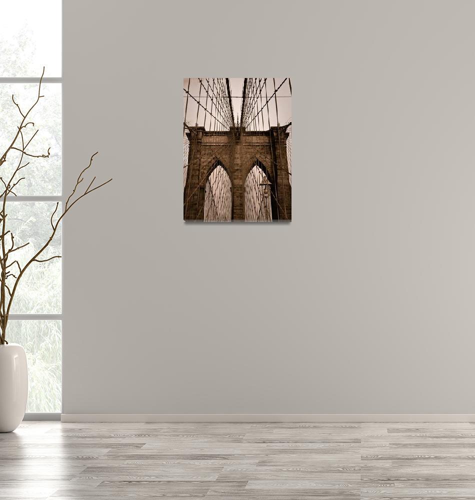 """Brooklyn Bridge""  (2008) by JamesHowePhotography"