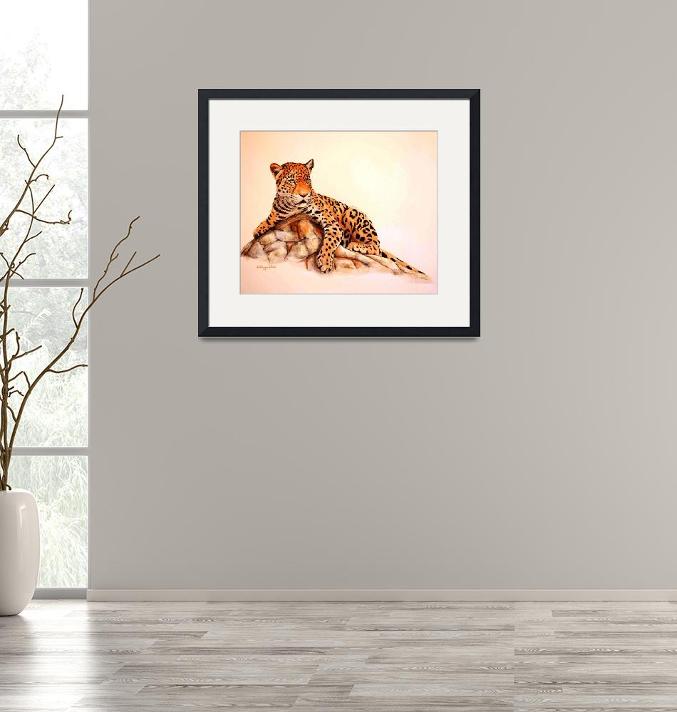 """""""Leopard painting""""  by AnimalsbyDiDi"""