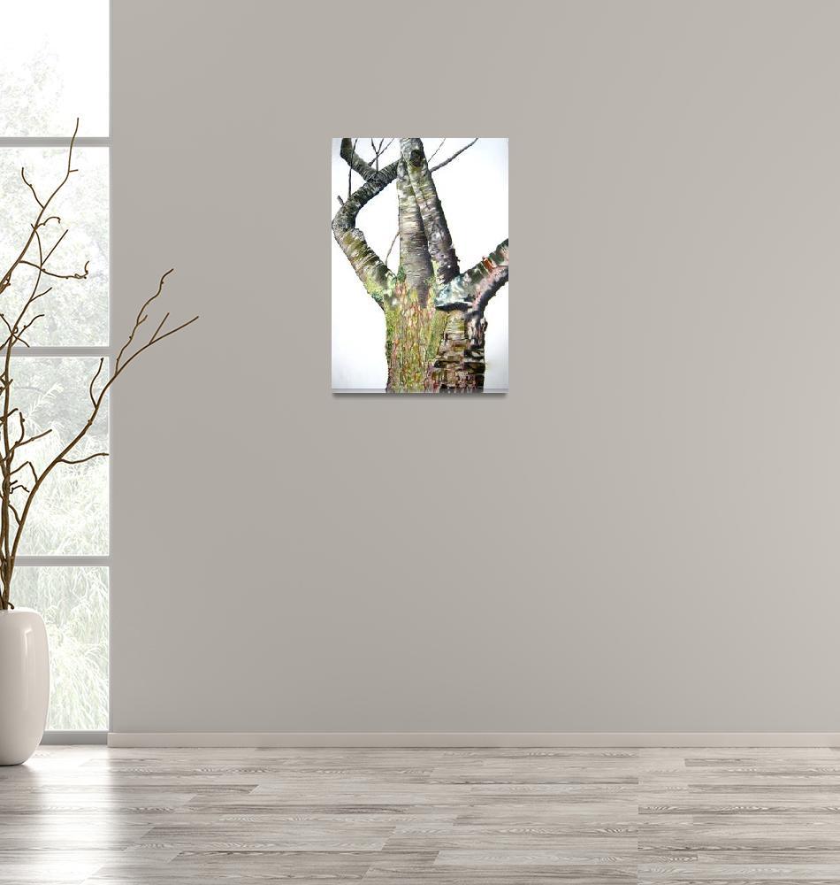 """Tree Trunk""  (2009) by Glenda"