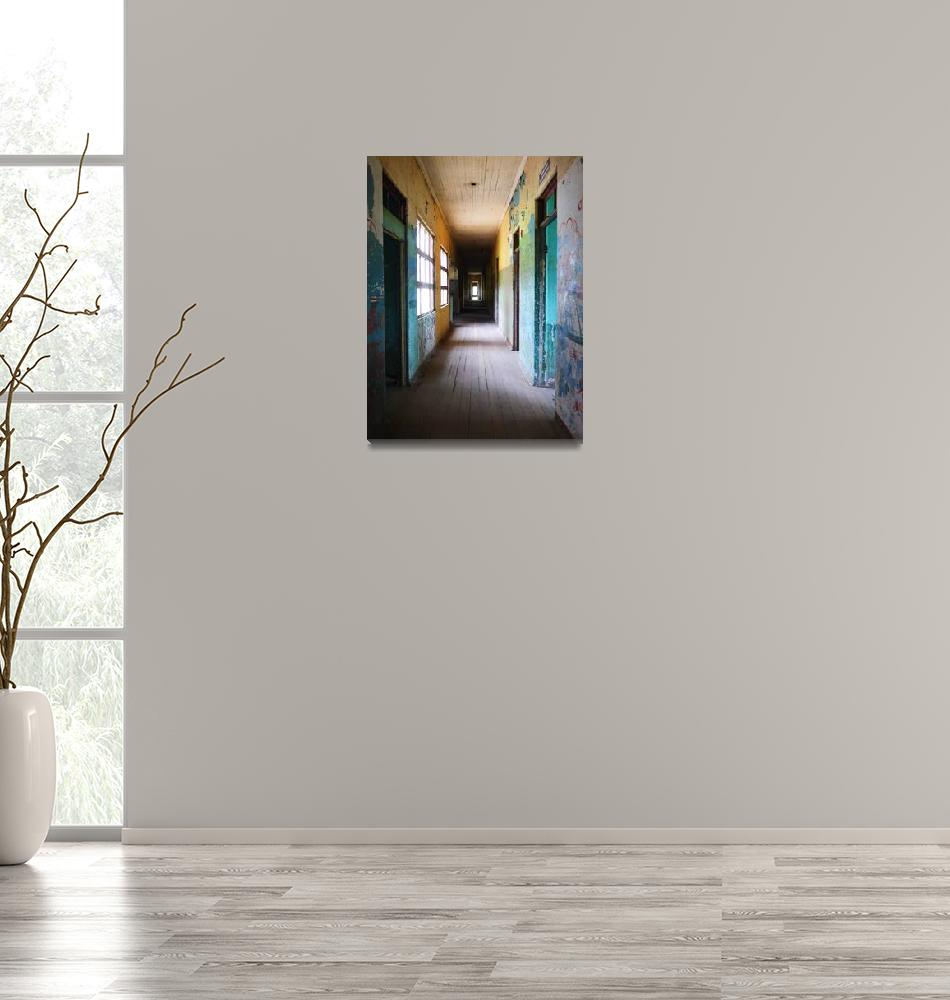 """""""Haunted Hallway.""""  (2015) by LangPhotography"""