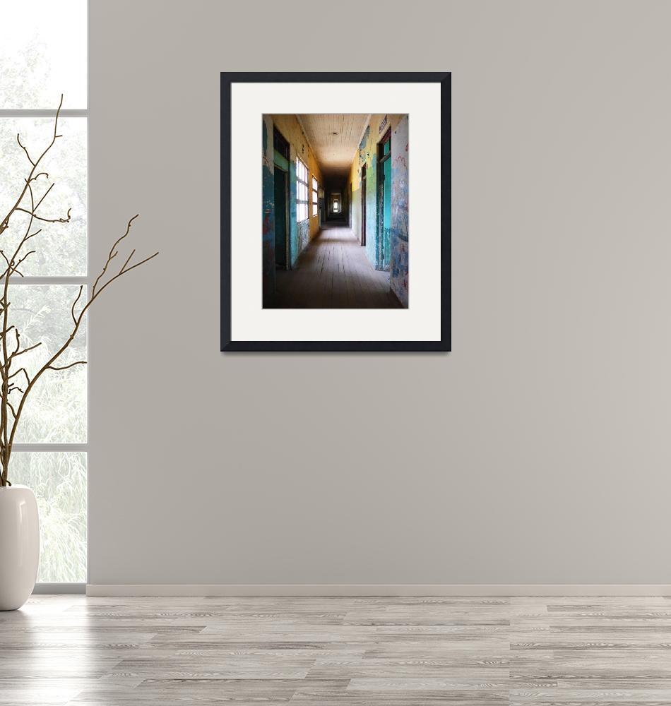 """Haunted Hallway.""  (2015) by LangPhotography"
