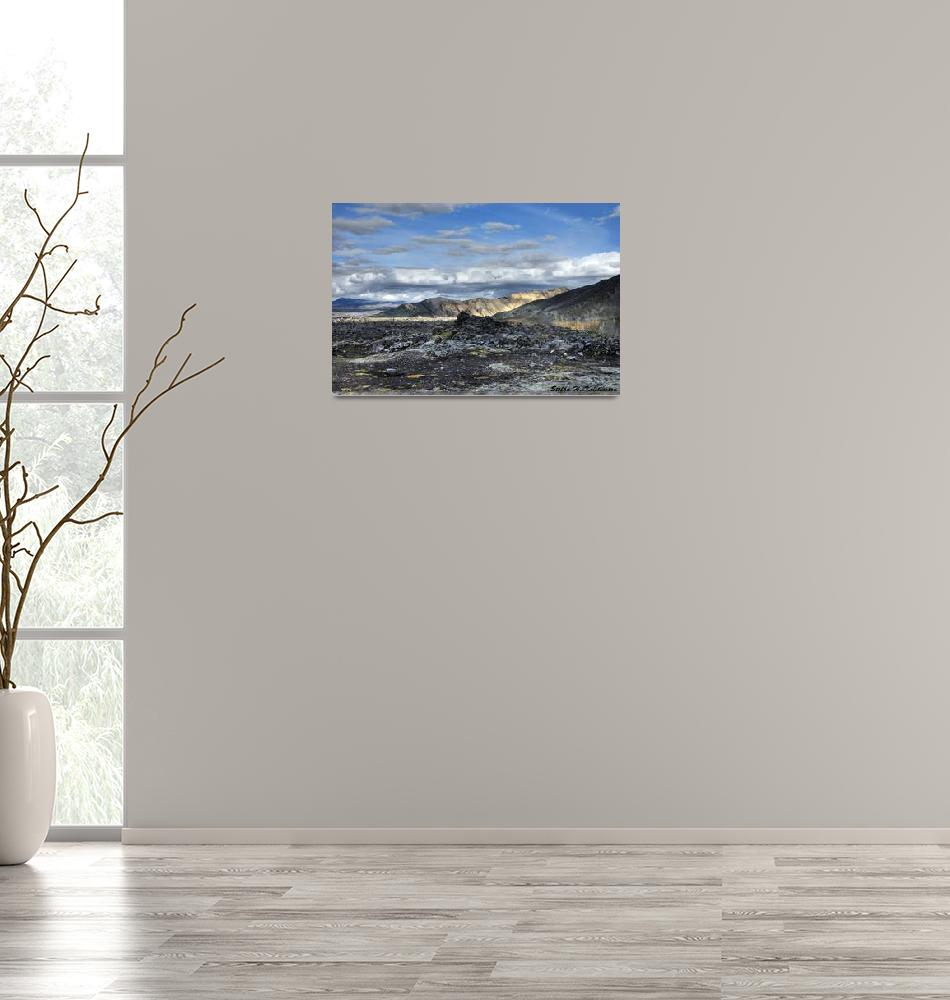 """Landmannalaugar Iceland""  (2007) by falconcreations"