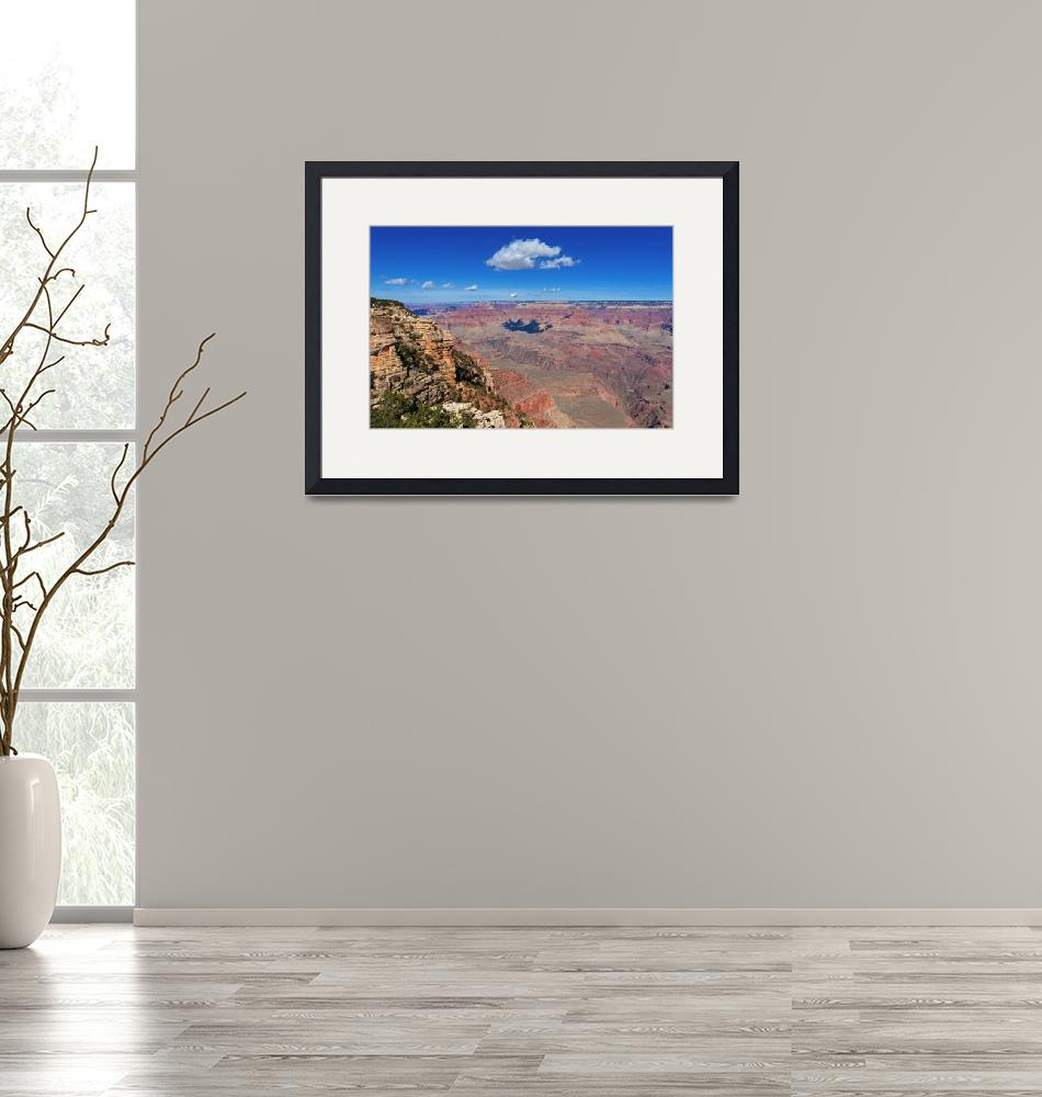 """Grand Canyon Cloud Shadow""  (2012) by FordLou"
