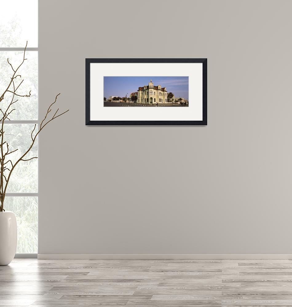 """""""Building in a city Hohenzollern Building Swakopmu""""  by Panoramic_Images"""